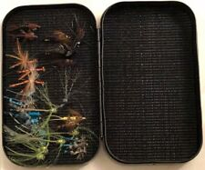 Richard Wheatley Fly Box - Very Rare 6 x 3.5 x 1.5 inches