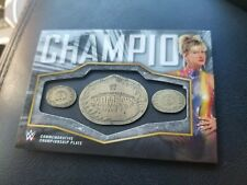 ALUNDRA BLAYZE 2018 Topps WWE Women's Division Championship Plate Card 18/50