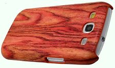 for samsung galaxy S3 wood looking case cover skin brown white red