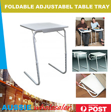 TV Foldable Portable Adjustable Tray Table Laptop Desk Home Bed Office Dinner AU