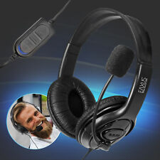 Gaming Headset PS4 Playstation 4 Computer Stereo Sound Eaxus kabelgebunden 3,5mm