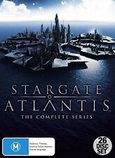 Stargate Atlantis Complete Series DVD 26 Discs Region 4