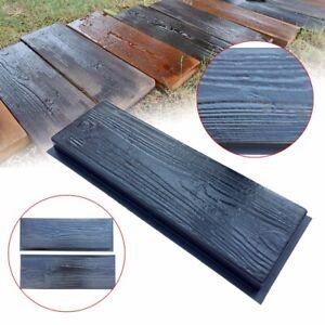 2PCS Garden Path Maker Mold Driveway Paving Stone Concrete Pavement Mould Paver