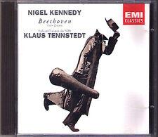 Nigel KENNEDY: BEETHOVEN Violin Concerto BACH Klaus TENNSTEDT CD Violinkonzert