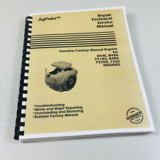 Onan Engine Service Manual for John Deere 316 318 420 Lawn Garden Tractor Repair