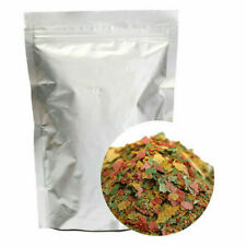 100g Tropical&Cichlid Fish Flakes Bulk Aquarium Pond M6D5 Flake S9G5 FRESH I8J9