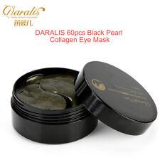 60Pcs Black Pearl Collagen Gold Eye Patch Mask Anti Wrinkle Dark Circles Remova