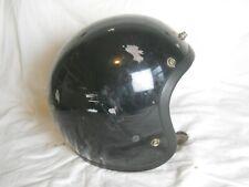 Vintage Bell Magnum Ii Motorcycle / Snowmobile Helmet, Black, Size 7 3/8, (Ds)