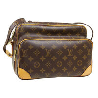 LOUIS VUITTON NILE CROSS BODY SHOULDER BAG AR2191 PURSE MONOGRAM M45244 33740