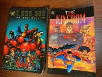 DC ONE MILLION & THE KINGDOM 439 pages of classic DC comics 1999 Very Fine 2 bks