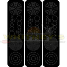 Specialty Archery Circles and Dots Black Aiming Decals For Scope Lenses #614B