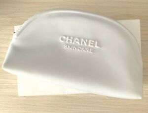 Chanel Skincare White cosmetic bag pouch VIP GIFT VERY RARE