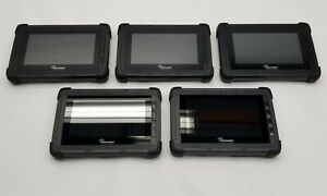"""Trimble Peoplenet MS5 7"""" Display Touchscreen Rugged ELD Tablet L019-0513 Lot 5"""