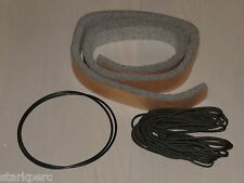 Vibraphone Vibe Repair Restore Kit: Felt, Cord, Belts