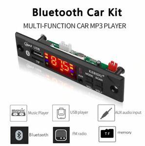 Car 12v Micro SD / USB mp3 player / radio / Bluetooth with remote