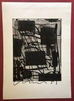 Olaf Metzel, L'arte povera 2, Kombinationsdruck, 1989, handsigniert und datiert