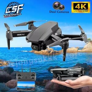 2021 NEW E99 PRO2 Drone 4K HD Dual Camera WiFi FPV Helicopter RC Drones Gifts