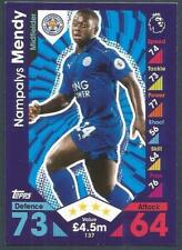 TOPPS MATCH ATTAX 2016-17- #137-LEICESTER CITY-NAMPALYS MENDY
