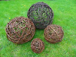 Weidenkugel Weidenball Dekokugel Kugel Rebenkugel Dekobälle Garten 10 bis 35cm