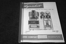 Dynaco MK-3 tube amplifier assembly manual reprint Dyna Dynakit Mark III