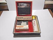Vintage ROWENTA GAS SNIP GERMAN CIGARETTE LIGHTER WITH ORIGINAL BOX & EXTRAS