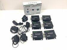 Lot of 6 AVUE SDH-R01 SDI TO HDMI CONVERTER  3G-SDI / HD-SDI / SDI One looping