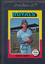 1975 Topps #364 Doug Bird Royals NM/MT *4166