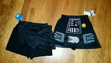 Mens star wars boxers underwear with detachable cape  loose cotton nwt medium