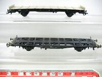 AD173-0,5# 2x Märklin H0 Güterwagen: 4853 Behältertragwagen+80 625 DB NEM KK TOP
