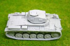 1/48 scale – 28mm WW2 GERMAN PANZER II Ausf. F resin tank Blitzkrieg miniatures