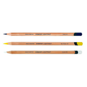 Derwent Lightfast Professional Quality Oil-Based Colour Pencils in 100 Colours