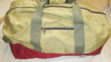 VINTAGE L L BEAN SOFT LUGGAGE HAND HELD TOP& SIDE HANDLES EXPANDABLE EXTRA LARGE