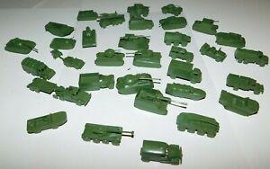 Vintage MPC Miniature Plastic Military Vehicles