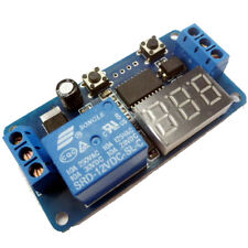 12V DC Relay Verzögerung ausschalten Einschaltverzögerung Switch Modul mit Timer