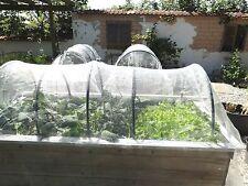 Pflanzenschutz  Breite 420 cm lfm Netz Insekten Gemüsebeete  Schädlingsschutz