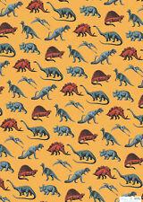 *Exclusives*Geschenkpapier*Kinder*50 x 70cm*Comic Book* Dinosaurier*.