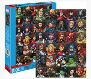 1000 piece MARVEL Universe HEROES Comic Collage Puzzle Licensed AVENGERS