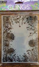 Hero Arts Clings Dandelion Frame Stamp* New*