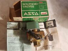 """3/4"""" ASCO 8210A35 10.5W NO 120/60 Red Hat II Solenoid Valve New Old Stock w/ Box"""