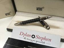 Montblanc starwalker rubber and platinum fineliner pen NEW + boxes + papers