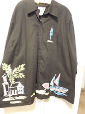 NWT Copa Cabana Petite Long Sleeve Button Down Size 3XWP