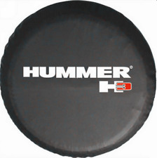 15inch Spare Tire Cover HUMMER H3 Black Heavy Duty Vinyl Tire Covers New