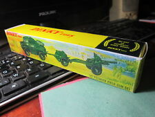 "Boite Vide Repro Dinky Toys Militaire # 697 ""25 Pounder Field Gun Set""/Empty box"