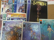 Alternative comic lot fathom 1-14 variants of 1 nm bagged boarded []
