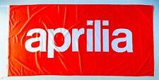APRILIA FLAG RED - SIZE 150x75cm (5x2.5 ft) - BRAND NEW
