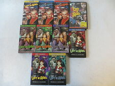 Lot of 10 LOST IN SPACE VHS TAPES Vols. 5-9 Episodes 1-3 & Collectors' Edition