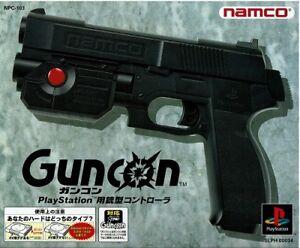 Namco Guncon 1 PlayStation Original Boxed PS1 Gun Controller NPC-103 SLPH-00034