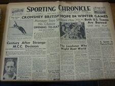 30/01/1948 noticias deportiva Chronicle & Atlético: No.22029 - titular principal (s): cron