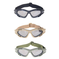 Protection Glasses Anti-shock Windproof Glasses Dust Tactical Safety Glasses HT