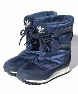 ADIDAS ORIGINALS SNOWRUSH W S81384 BLUE WOMENS WINTER BOOTS SPORT STYLE